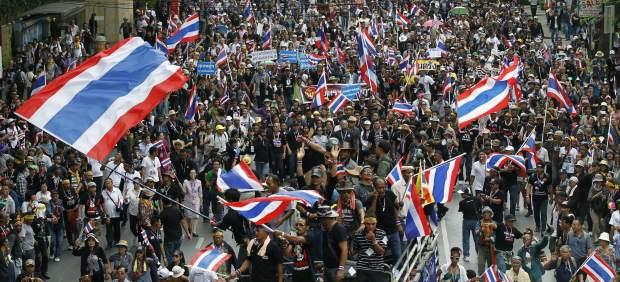 crisis politica en tailandia